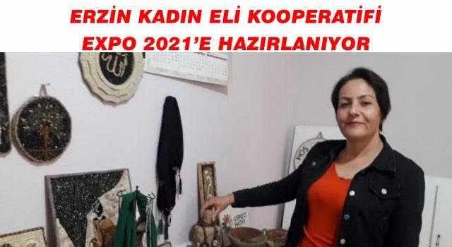 Erzin Kadın Eli Kooperatifi Expo 2021'e Hazırlanıyor
