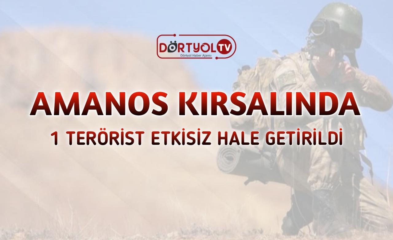 İçişleri Bakanlığı: 1 terörist etkisiz hale getirildi