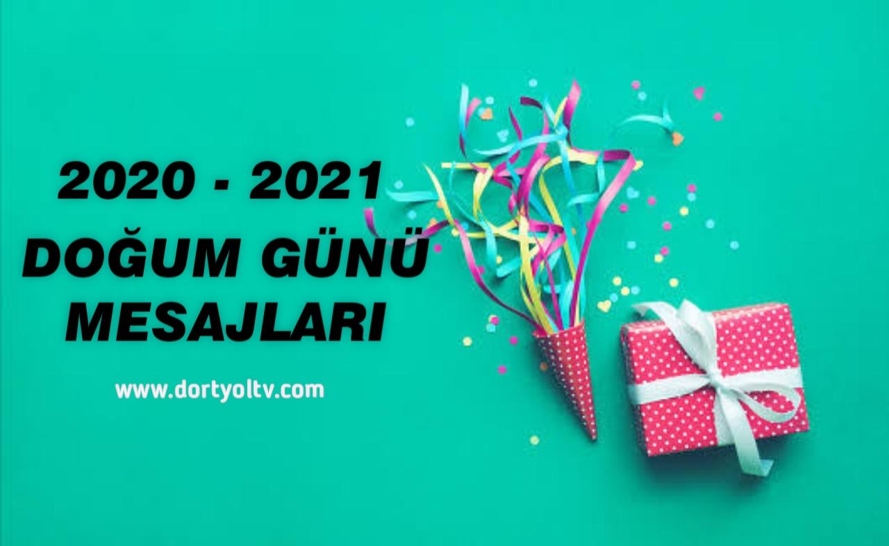 Doğum Günü Mesajları 2020