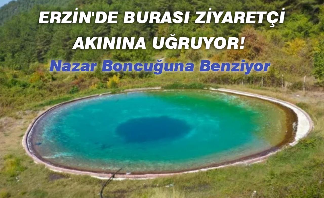 Hatay Erzin ilçesinde burası ziyaretçi akınına uğruyor!