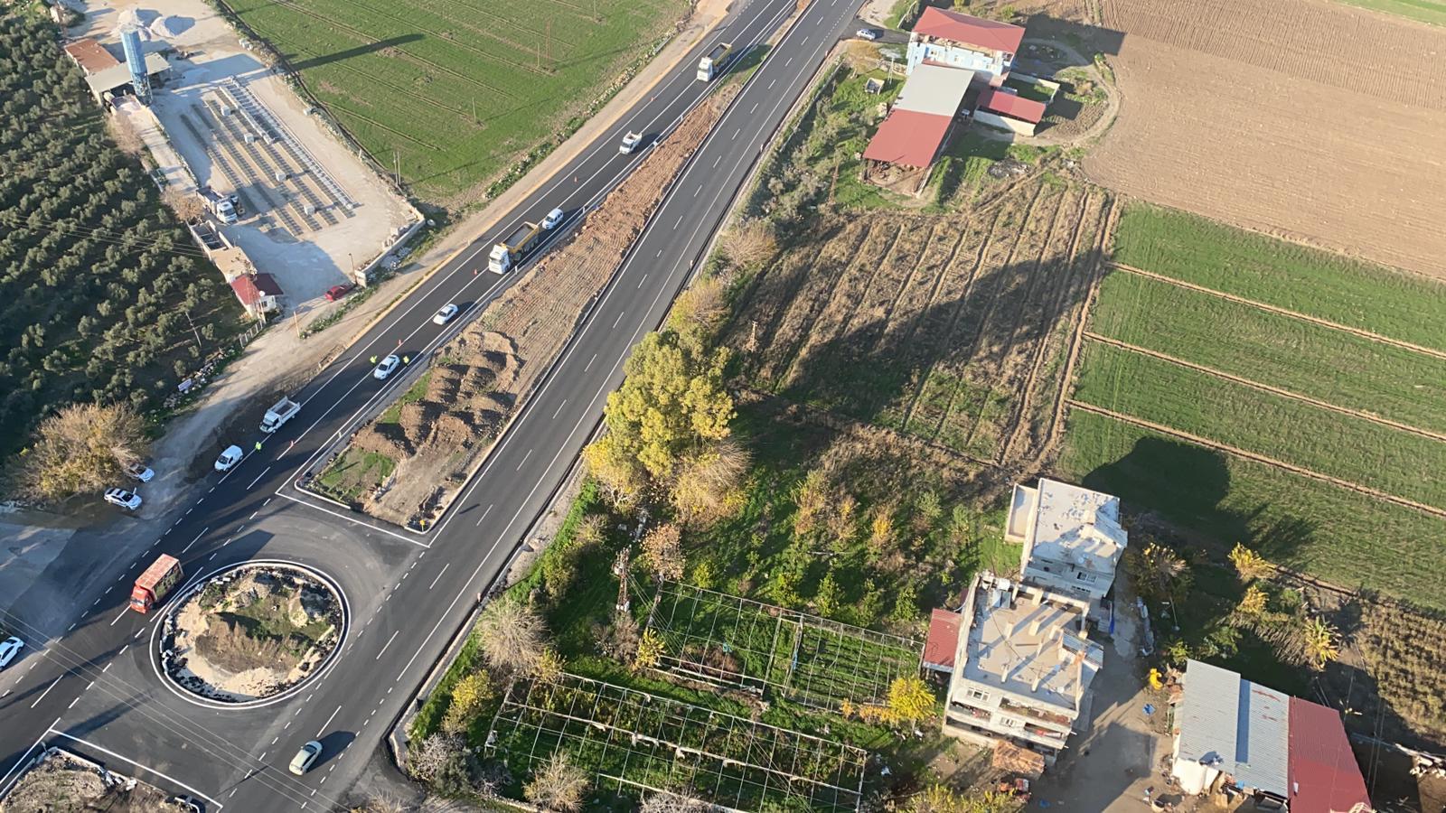 Hatay'da hava destekli helikopter ile trafik denetimi yapıldı