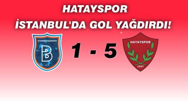 Başakşehir 1 - Hatayspor 5 Maç Sonucu