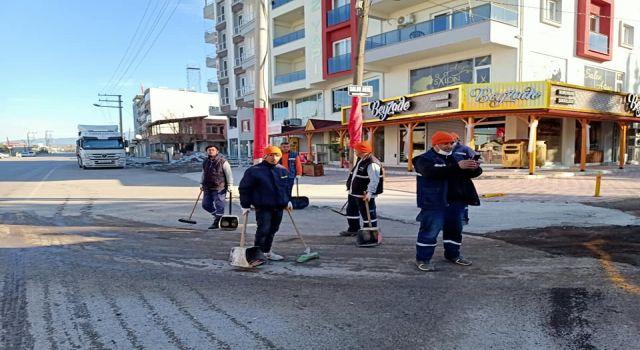 Dörtyol Belediyesi'nde Temizlik, İlaçlama ve Dezenfekte Seferberliği Devam Ediyor