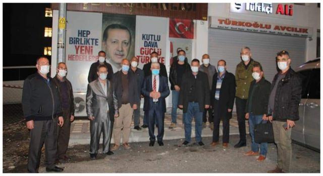 Milletvekili Türkoğlu, Orman Kooperatifleri Temsilcileri ve Muhtarlar ile bir araya geldi