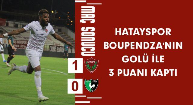 Hatayspor Boupendza'nın Golü ile 3 Puanı Kaptı