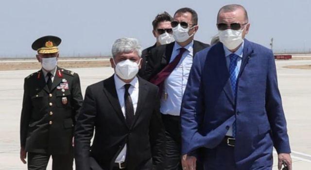 Cumhurbaşkanı Recep Tayyip Erdoğan Hatay'da
