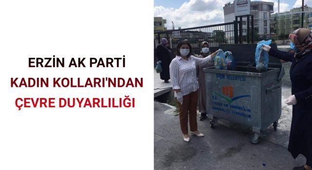 Erzin AK Parti Kadın Kolları'ndan çevre duyarlılığı