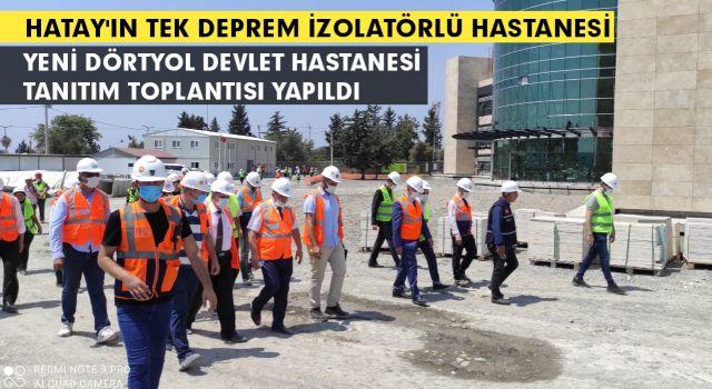 Yeni Dörtyol Devlet Hastanesi'nin Yapımında Sona Yaklaşılıyor