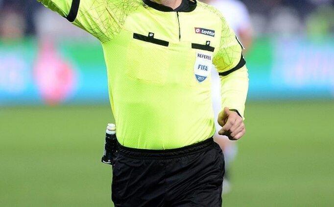 Türkiye-Sırbistan maçının hakemi belli oldu