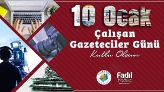 Başkan Keskin'den 10 Ocak Çalışan Gazeteciler Günü mesajı