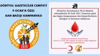 DGC'den 9 Ocak'a Özel Kan Bağış Kampanyası