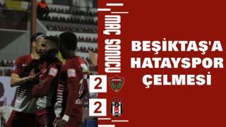 Hatayspor 2-2 Beşiktaş | Maç Sonucu