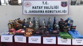 Hatay'da Kaçak Alkol Satan İşyerine Operasyon