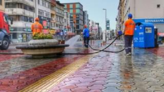 Dörtyol Belediyesinin Temizlik Çalışmaları Devam Ediyor