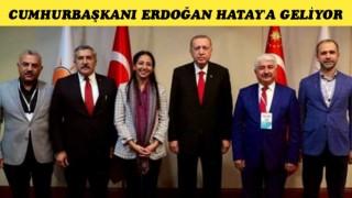 Cumhurbaşkanı Erdoğan Hatay'a geliyor