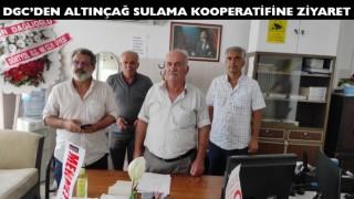 DGC'DEN ALTINÇAĞ SULAMA KOOPERATİFİNE ZİYARET