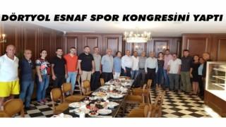 DÖRTYOL ESNAF SPOR KONGRESİNİ YAPTI