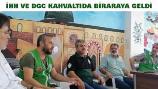 İHH VE DGC KAHVALTIDA BİRARAYA GELDİ