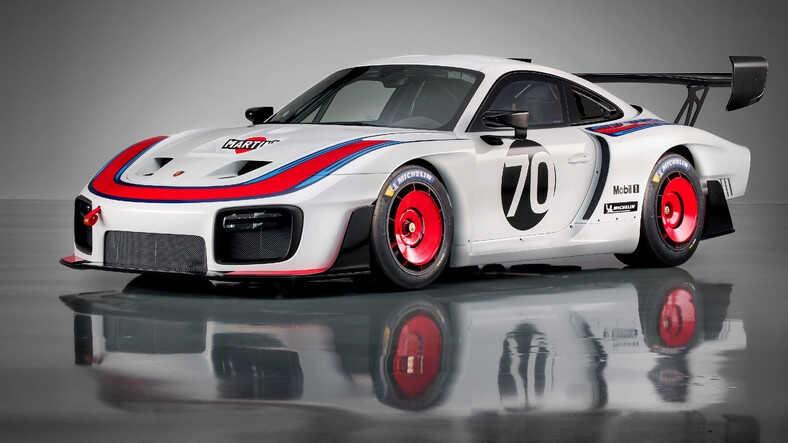 Porsche 935 Monza pistinde test edilirken görüldü