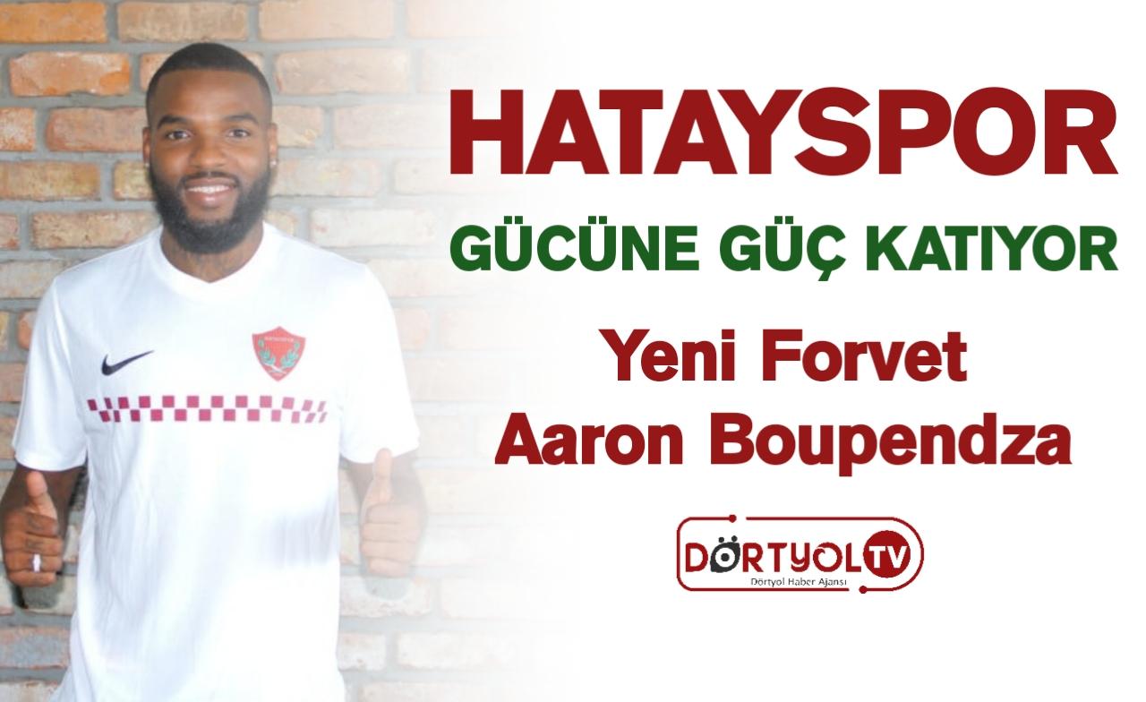 Hatayspor'un Yeni Forvet Oyuncusu Aaron Boupendza