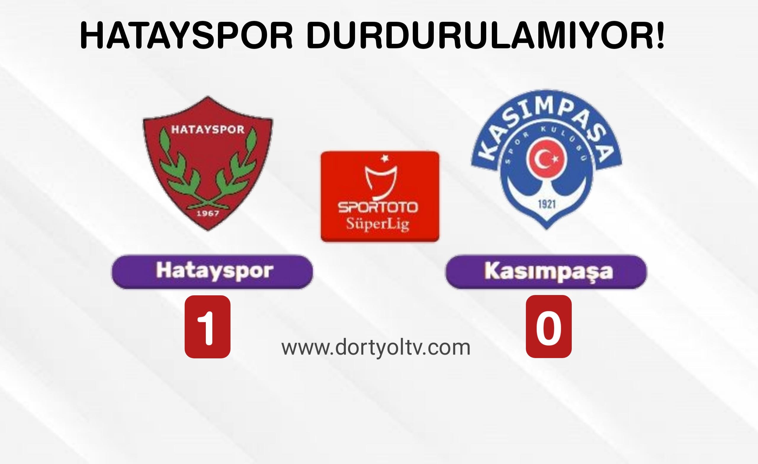 Hatayspor 1-0 Kasımpaşa   Maç Sonucu