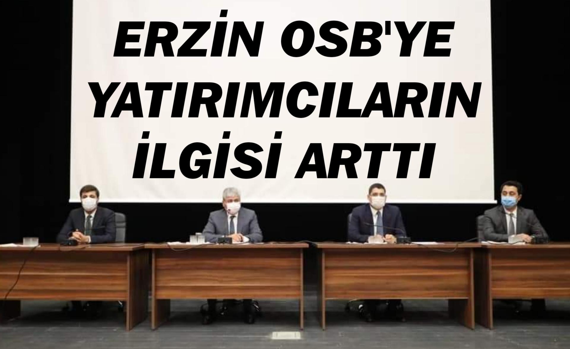 Erzin OSB'ye Yatırımcıların İlgisi Arttı