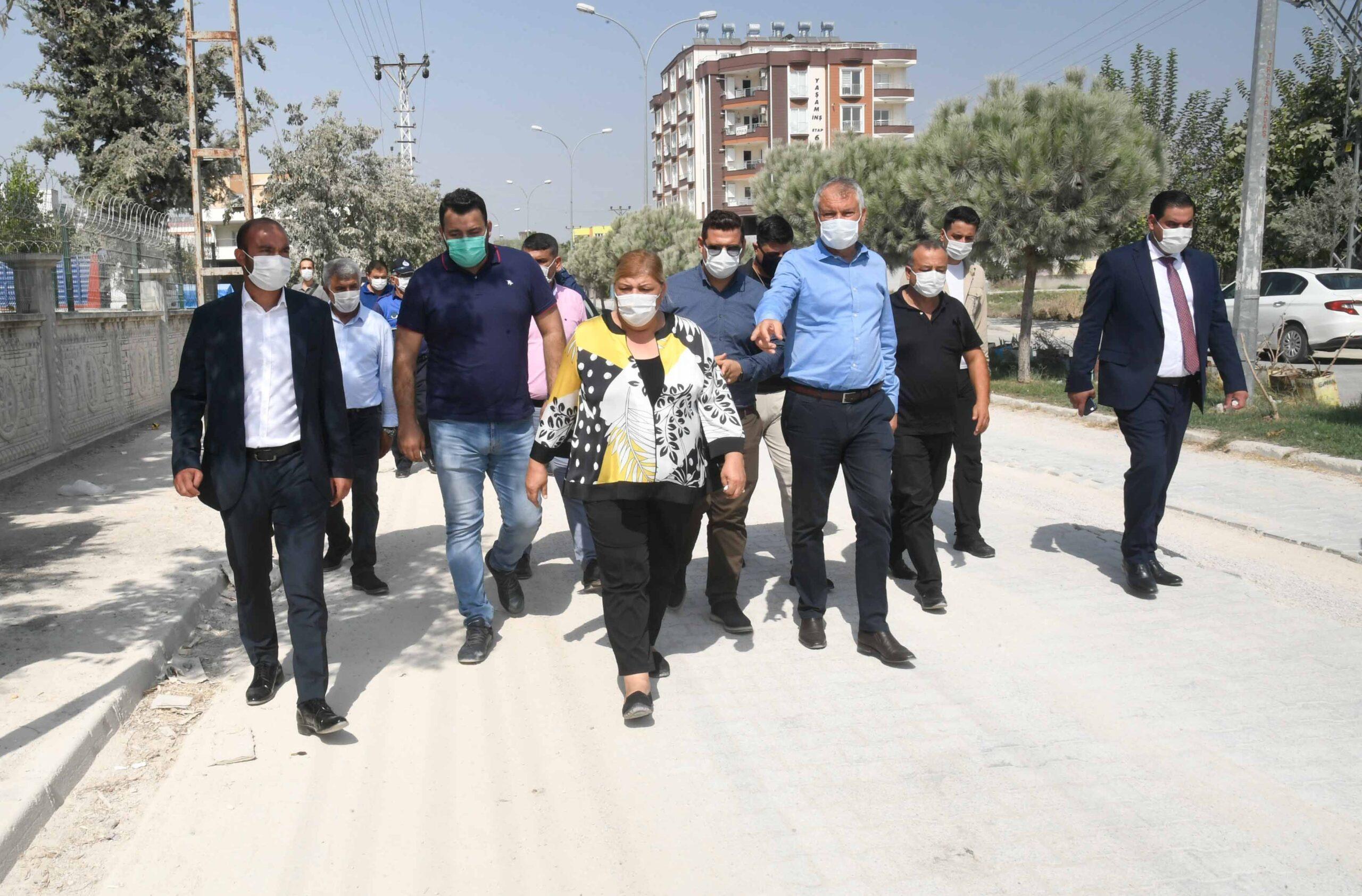 Adana Büyükşehir, Ceyhan'ın sorunlarının çözümü için teyakkuza geçti
